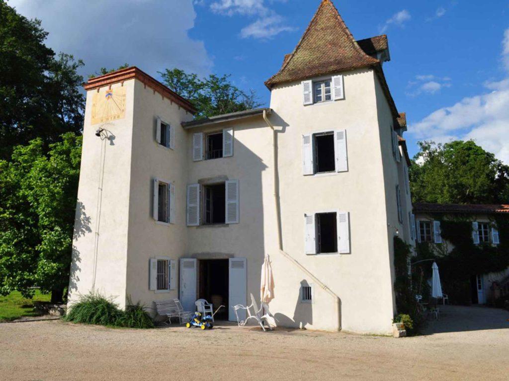 La Vallerie location saisonnier Auvergne vue salon BD